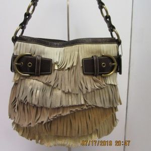 Coach limited edition fringe tote